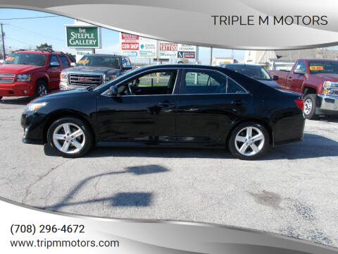 2014 Toyota Camry for sale at Triple M Motors in Saint John IN