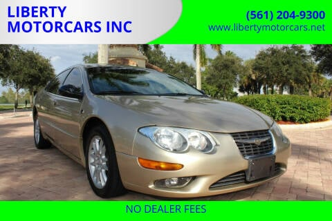2001 Chrysler 300M for sale at LIBERTY MOTORCARS INC in Royal Palm Beach FL