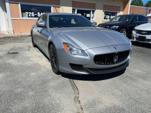 2014 Maserati Quattroporte for sale at City to City Auto Sales in Richmond VA