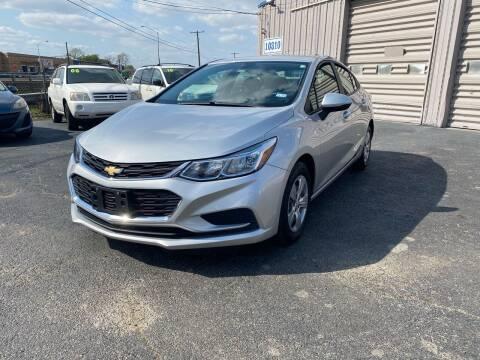 2018 Chevrolet Cruze for sale at Dallas Auto Drive in Dallas TX