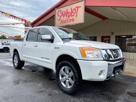 2010 Nissan Titan for sale at Sandlot Autos in Tyler TX