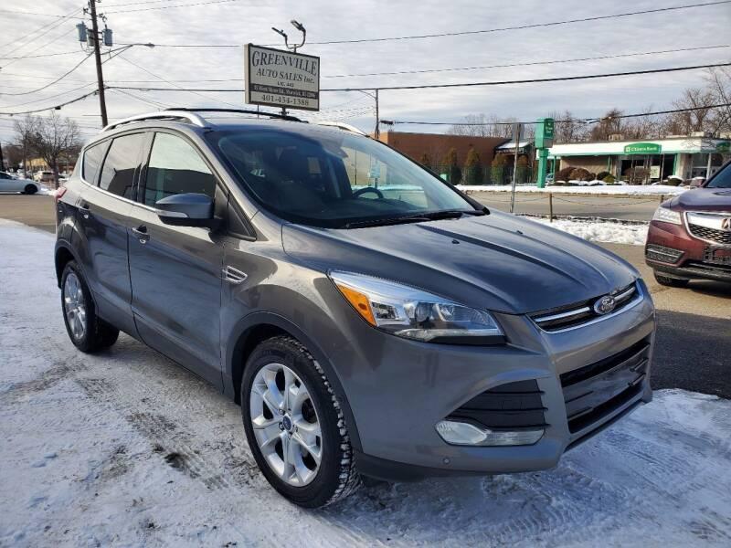 2014 Ford Escape for sale at Greenville Auto Sales in Warwick RI