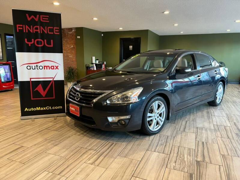 2015 Nissan Altima for sale at AutoMax in West Hartford CT