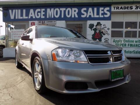 2014 Dodge Avenger for sale at Village Motor Sales in Buffalo NY