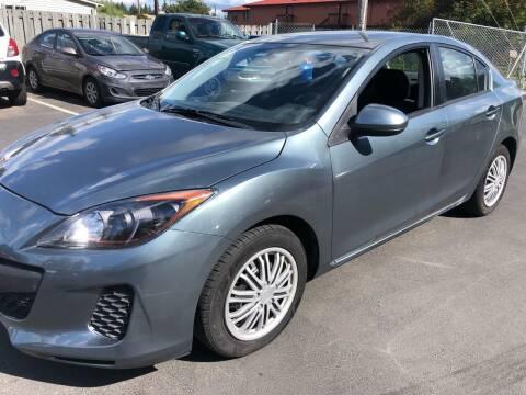 2013 Mazda MAZDA3 for sale at ALHAMADANI AUTO SALES in Spanaway WA
