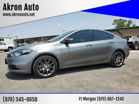 2013 Dodge Dart for sale at Akron Auto in Akron CO