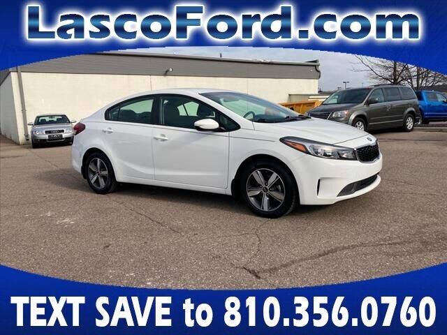 2018 Kia Forte for sale at Lasco of Grand Blanc in Grand Blanc MI