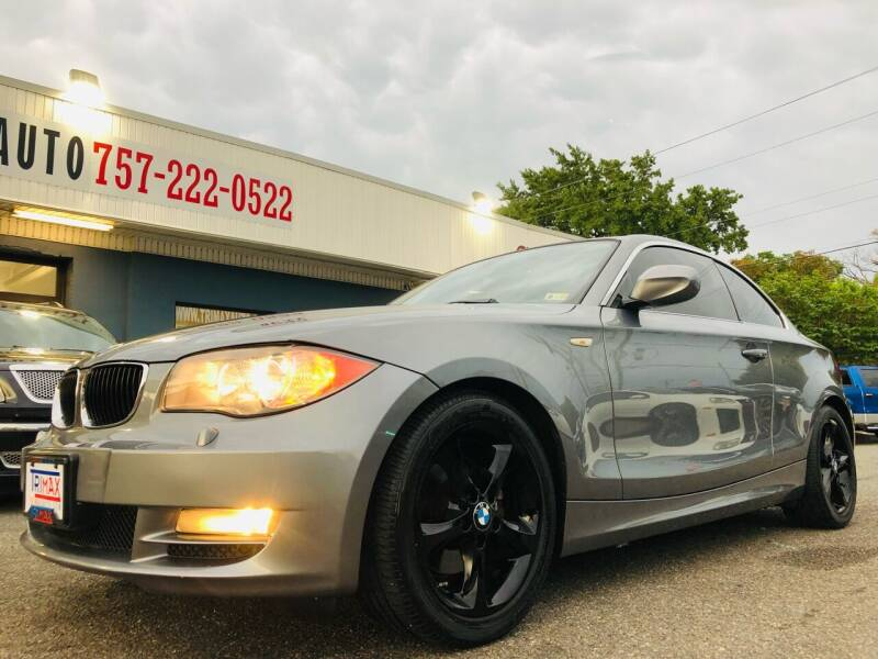 2010 BMW 1 Series for sale at Trimax Auto Group in Norfolk VA