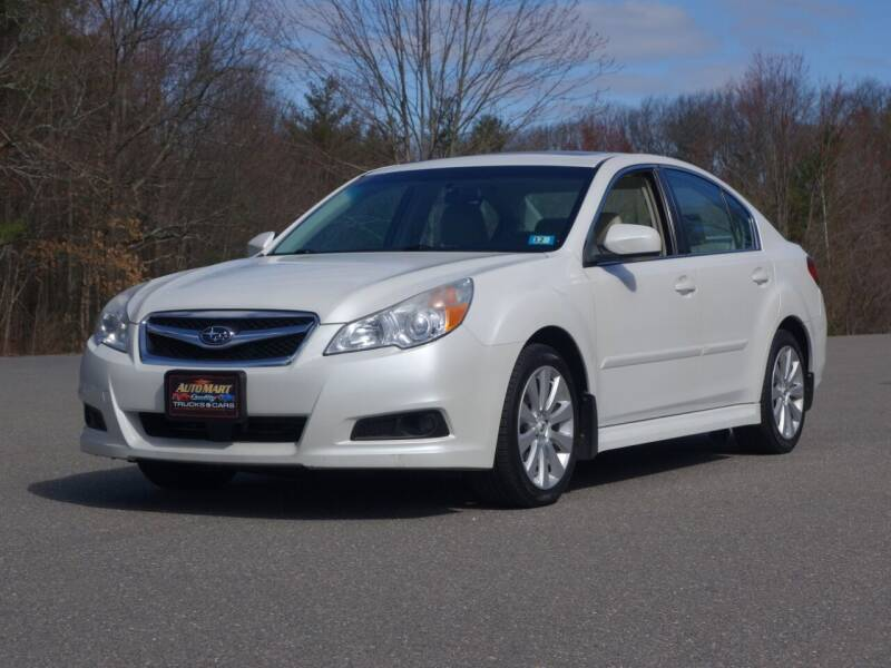2012 Subaru Legacy for sale at Auto Mart in Derry NH