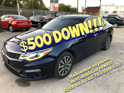 2019 Kia Optima for sale at Saipan Auto Sales in Houston TX
