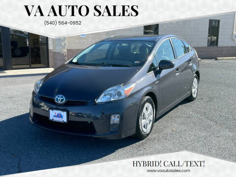 2010 Toyota Prius for sale at Va Auto Sales in Harrisonburg VA