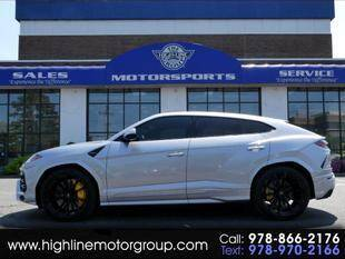 2020 Lamborghini Urus for sale at Highline Group Motorsports in Lowell MA
