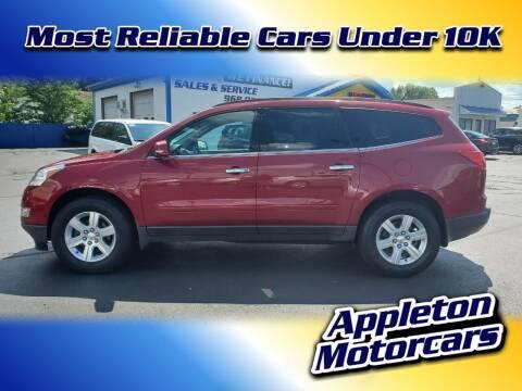 2012 Chevrolet Traverse for sale at Appleton Motorcars Sales & Service in Appleton WI