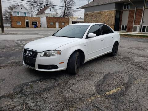 2008 Audi A4 for sale at USA AUTO WHOLESALE LLC in Cleveland OH