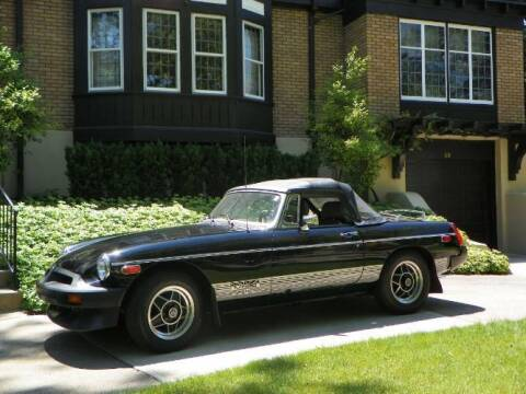 1980 MG MGB for sale at Classic Car Deals in Cadillac MI