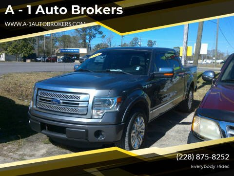 2013 Ford F-150 for sale at A - 1 Auto Brokers in Ocean Springs MS