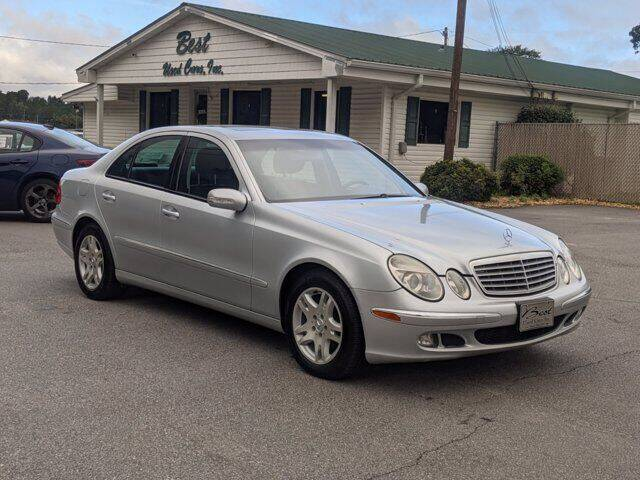 2006 Mercedes-Benz E-Class for sale at Best Used Cars Inc in Mount Olive NC