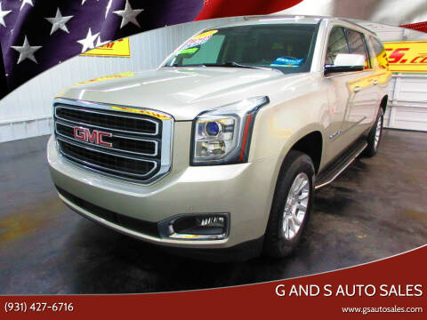 2015 GMC Yukon XL for sale at G and S Auto Sales in Ardmore TN