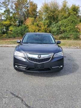 2016 Acura MDX for sale at EBN Auto Sales in Lowell MA