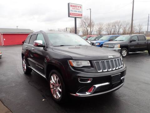 2014 Jeep Grand Cherokee for sale at Marty's Auto Sales in Savage MN