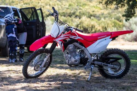 2021 Honda CRF125FM for sale at Honda West in Dickinson ND