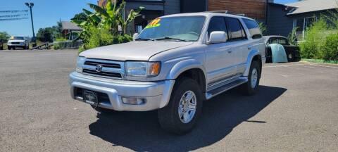 1999 Toyota 4Runner for sale at Persian Motors in Cornelius OR