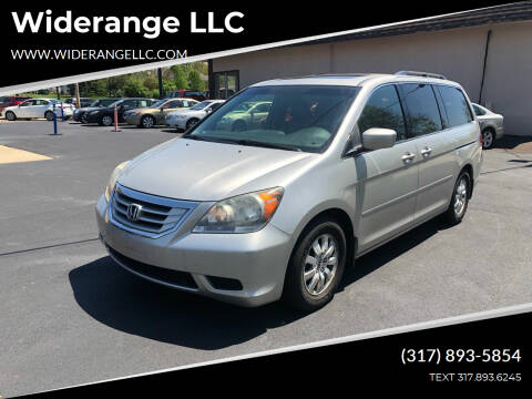 2008 Honda Odyssey for sale at Widerange LLC in Greenwood IN