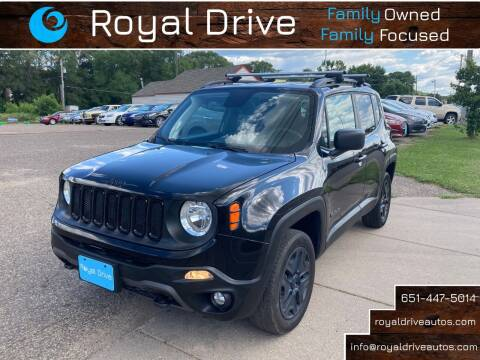 2018 Jeep Renegade for sale at Royal Drive in Newport MN