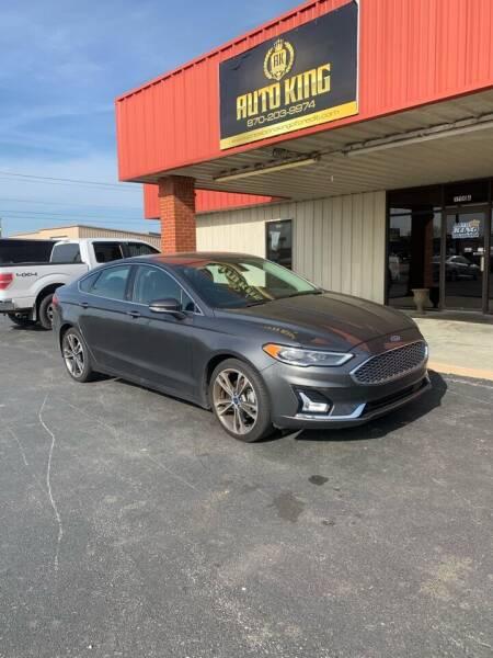 2019 Ford Fusion for sale at AUTO KING in Jonesboro AR