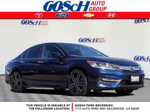 2017 Honda Accord for sale at BILLY D SELLS CARS! in Temecula CA