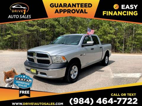 2015 RAM Ram Pickup 1500 for sale at Drive 1 Auto Sales in Wake Forest NC