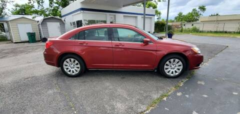 2014 Chrysler 200 for sale at Bill Bailey's Affordable Auto Sales in Lake Charles LA