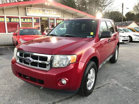 2011 Ford Escape for sale at Mira Auto Sales in Raleigh NC