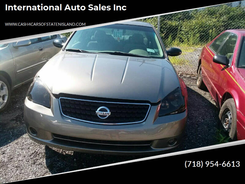 2005 Nissan Altima for sale at International Auto Sales Inc in Staten Island NY