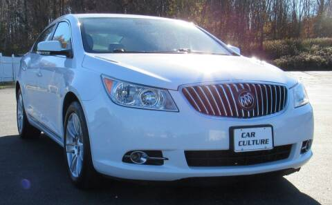 2013 Buick LaCrosse for sale at Car Culture in Warren OH