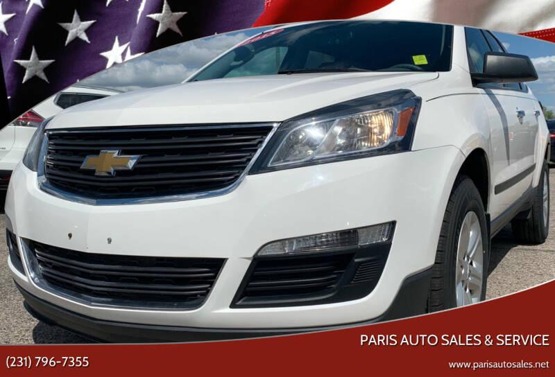 2015 Chevrolet Traverse for sale at Paris Auto Sales & Service in Big Rapids MI