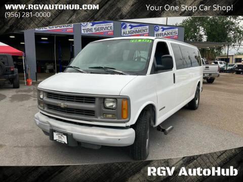 1999 Chevrolet Express Passenger for sale at RGV AutoHub in Harlingen TX
