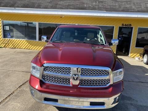 2014 RAM Ram Pickup 1500 for sale at THE COLISEUM MOTORS in Pensacola FL