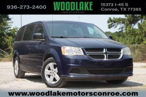 2013 Dodge Grand Caravan for sale at WOODLAKE MOTORS in Conroe TX