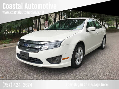 2012 Ford Fusion for sale at Coastal Automotive in Virginia Beach VA