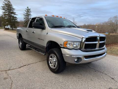 2003 Dodge Ram Pickup 2500 for sale at 100% Auto Wholesalers in Attleboro MA