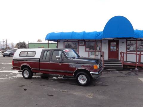 1991 Ford F-150 for sale at Jim's Cars by Priced-Rite Auto Sales in Missoula MT