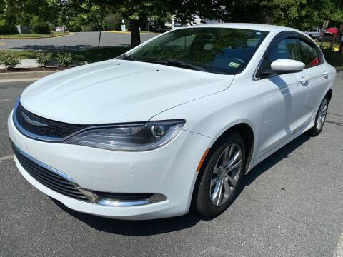 2015 Chrysler 200 for sale at Dreams Auto Sales LLC in Leesburg VA