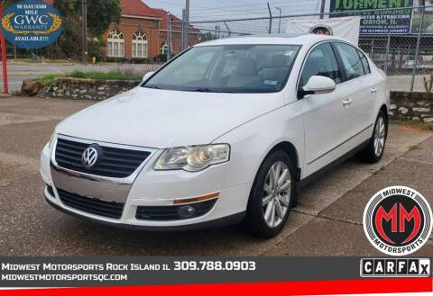 2010 Volkswagen Passat for sale at MIDWEST MOTORSPORTS in Rock Island IL