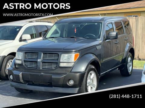 2011 Dodge Nitro for sale at ASTRO MOTORS in Houston TX