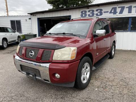 2006 Nissan Armada for sale at AMERICAN AUTO COMPANY in Beaumont TX