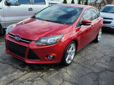 2012 Ford Focus for sale at Mighty Motors in Adrian MI