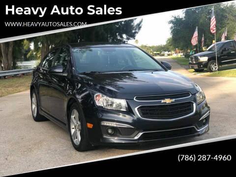 2016 Chevrolet Cruze Limited for sale at Heavy Auto Sales in Miami FL