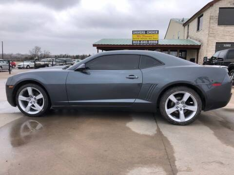 2010 Chevrolet Camaro for sale at Driver's Choice in Sherman TX