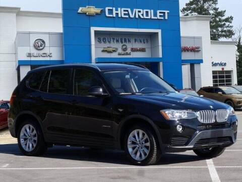 2017 BMW X3 for sale at PHIL SMITH AUTOMOTIVE GROUP - SOUTHERN PINES GM in Southern Pines NC